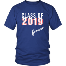 Load image into Gallery viewer, Class Of 2019 Forever - Senior Shirts - Blue Color