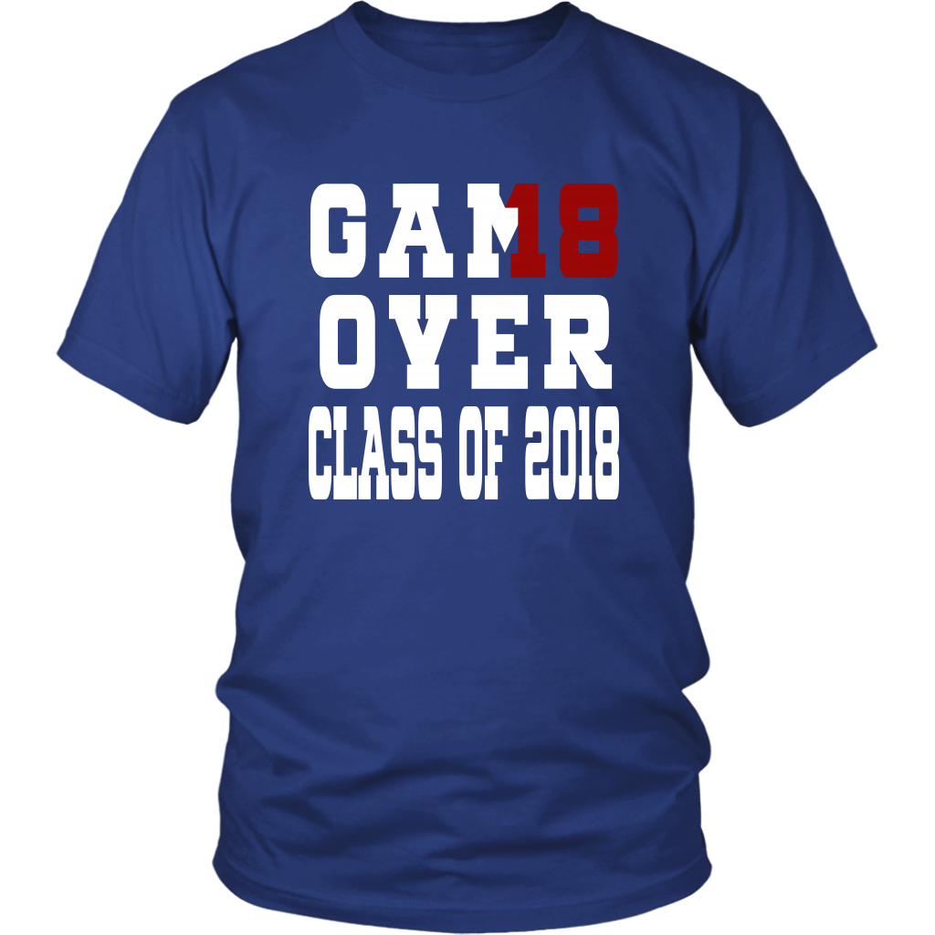 Here is our new design class of 2018 t shirts.