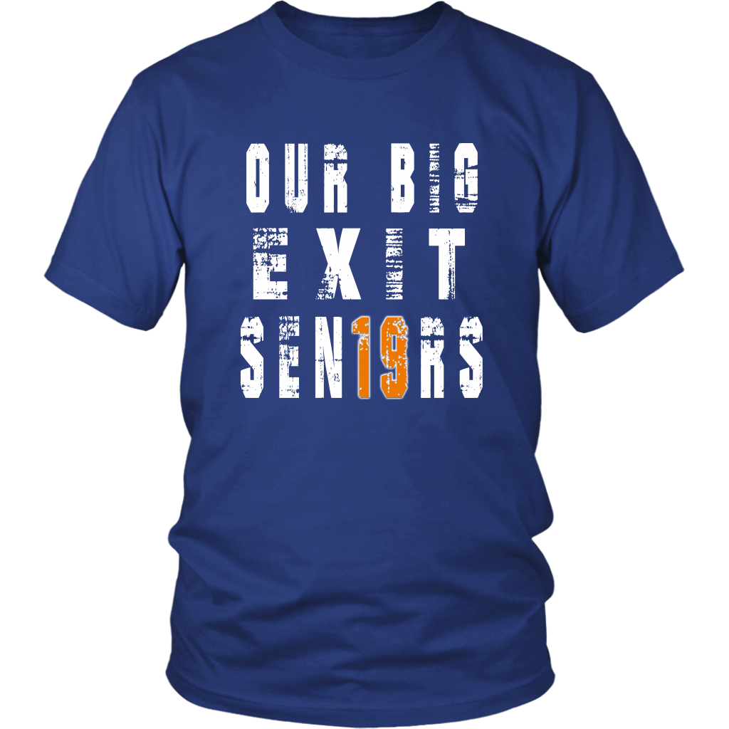 Class shirts 2019 - Our Big Exit - Blue