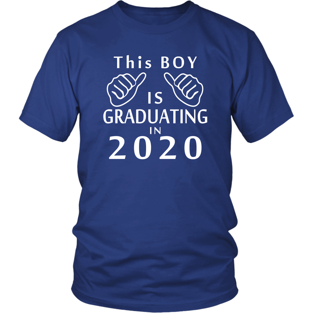 This Boy Is Graduating In 2020 - Class Of 2020 Shirts Slogans