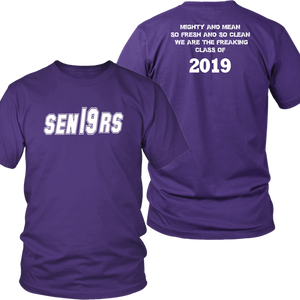 Mighty and Mean - Senior 2019 Shirts