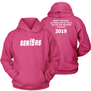 Mighty and Mean - Senior Class of 2019 Hoodies