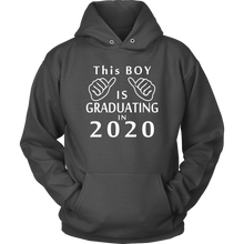 Load image into Gallery viewer, This Boy Is Graduating In 2020 - Senior Class Of 2020 Hoodie