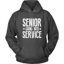 Load image into Gallery viewer, Senior Going Into Service - Class of 2019 Senior Hoodies - Charcoal