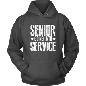 Senior Going Into Service - Class of 2019 Senior Hoodies - Charcoal