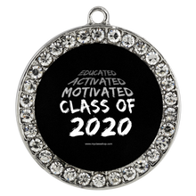 Load image into Gallery viewer, Educated Activated Motivated - Graduation Necklaces for Her 2020