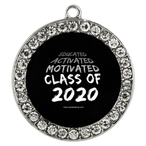 Educated Activated Motivated - Graduation Necklaces for Her 2020