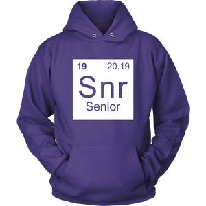 Senior - Class of 19 Hoodies
