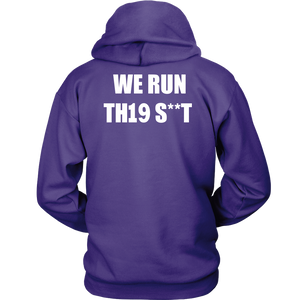 We Run - Class Of 2019 Hoodies - Purple
