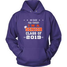 Load image into Gallery viewer, I'm A Senior - Senior 19 Hoodie - Purple