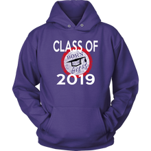 Load image into Gallery viewer, Born To Be Great - Senior 2019 Hoodies - Purple
