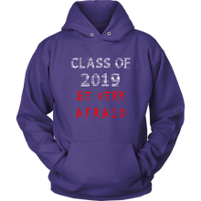 Load image into Gallery viewer, Class of 2019 hoodies with slogans purple