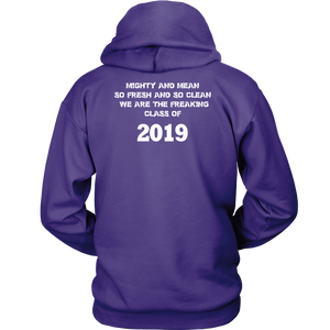 Mighty and Mean - Class Of 19 Hoodies - Purple