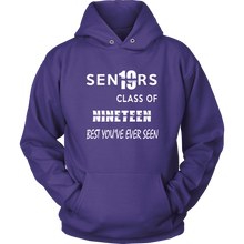 Load image into Gallery viewer, Senior Class of 2019 Hoodie - Purple