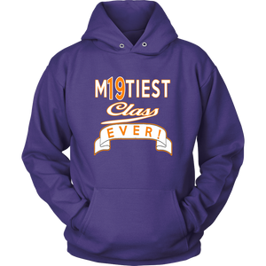 M19tiest Class Ever - Senior Hoodie 2019 - Purple