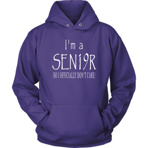 I'm A Sen19r - Senior 2019 Hoodies