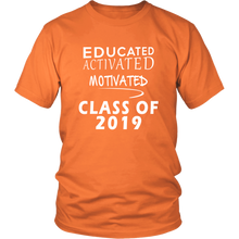 Load image into Gallery viewer, Class of 2019 t shirt slogans - Sen19rs shirt - Orange