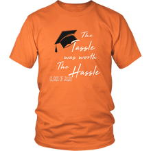 Load image into Gallery viewer, The Tassle Was Worth The Hassle - Class Of 2020 T-shirt Ideas