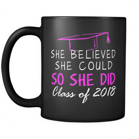 She Believed She Could So She Did - Graduation gifts for her - My Class Shop