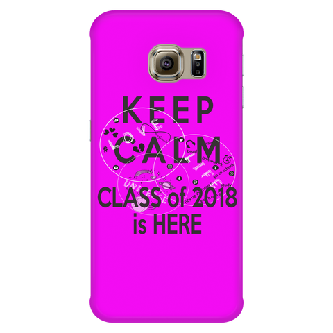 Keep Calm - Senior 2018 phone cases