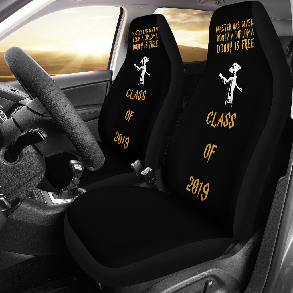 Dobby Is Free - Class of 2019 Car Seat Covers