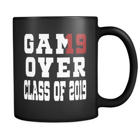 Game Over - Graduation Mugs 2019