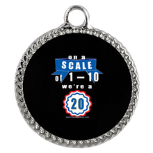 Load image into Gallery viewer, On a Scale of 1-10 - Graduation Charm Necklaces