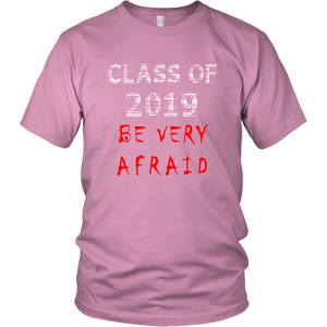 Class of 2019 shirts with slogans - Pink