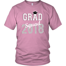 Load image into Gallery viewer, 2018 Grad Squad T shirts - Graduation Shirts For Family - Pink