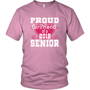 Proud Girlfriend - Class shirt ideas 2018