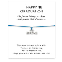 Load image into Gallery viewer, graduation bracelets 2018 for her