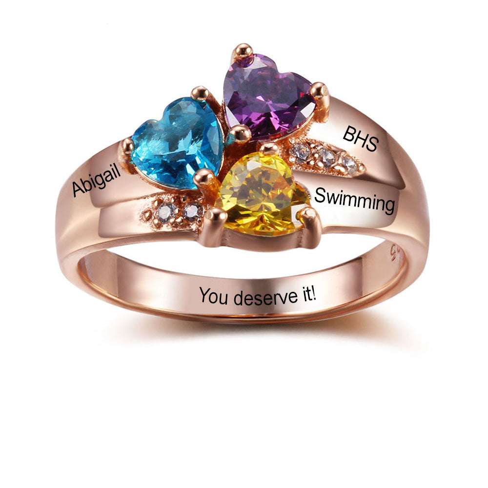 Graduation Rings - 925 Sterling Silver MCS102345 – My Class Shop