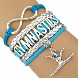 Infinity Love Gymnastics Bracelet - My Class Shop