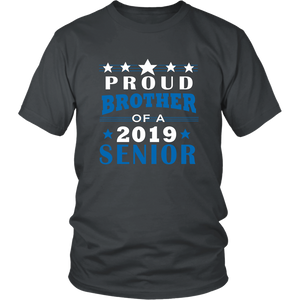 Proud Brother Of A 2019 Senior - Ideas For Family Shirts