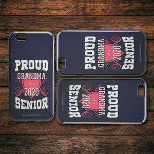 Proud Grandma of a 2020 Senior - Blue Edition