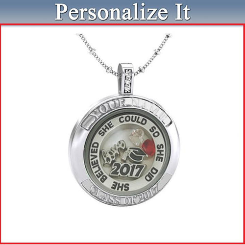 Personalized Graduation Necklace-Graduation gifts - My Class Shop