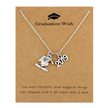 Load image into Gallery viewer, Class of 2019 Graduation Necklace With Pendant