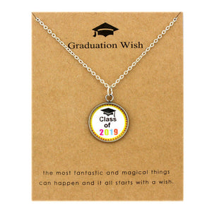 Class of 2019 Graduation Necklace With Pendant