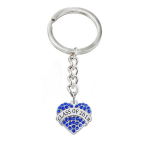 Color Heart Shaped Class Of 2019 Keyholders