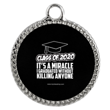 Load image into Gallery viewer, It's A Miracle I Graduated - Grad Necklaces 2020