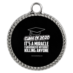 It's A Miracle I Graduated - Grad Necklaces 2020