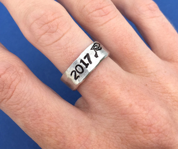 2017 Class Rings - Hand Stamped - My Class Shop