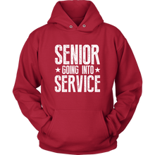 Load image into Gallery viewer, Senior Going Into Service - Class of 2019 Senior Hoodies - Red