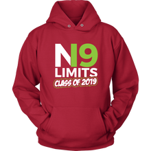 Load image into Gallery viewer, No Limits - Grad Hoodies 2019 - Red