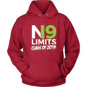 No Limits - Grad Hoodies 2019 - Red