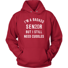 Load image into Gallery viewer, I'm A BadAss - Senior Class Of 2020 Hoodie