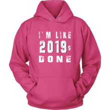 Load image into Gallery viewer, Class Of 2019 Senior Hoodies - 2019% Done - Pink