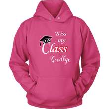 Load image into Gallery viewer, Kiss My Class Goodbye - Graduation Hoodie Designs 2019