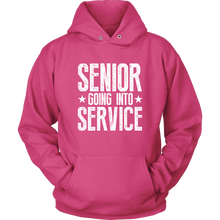 Load image into Gallery viewer, Senior Going Into Service - Class of 2019 Senior Hoodies - Sangria
