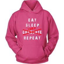 Load image into Gallery viewer, Eat Sleep I D18 It - Class of 2018 Hoodie